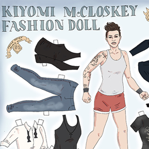 Take Home Your Favorite Queer Ladies (As Paper Dolls)
