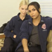 Watch: 'Chicago Fire's' Dawson and Shay Get Cozy for 'Fireside Chats'