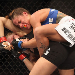 First Out UFC Liz Carmouche v. Ronda Rousey - Recap