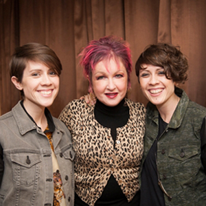 Shot of the Day: Tegan, Sara, and Cyndi Lauper in 'Rolling Stone'