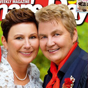 Shot of The Day: Country Music's Lynda Topp and Wife Are Cover Girls For New Zealand's 'Woman's Day' Magazine