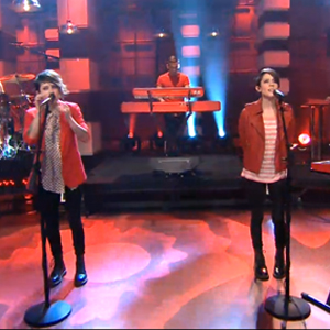 Watch: Tegan and Sara Get 'Closer' to Equality on Jay Leno