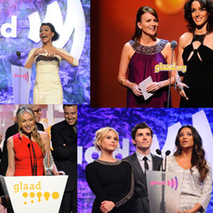 9 Tear-Jerking, Sweet, Sexy and Hilarious Moments from the GLAAD Awards