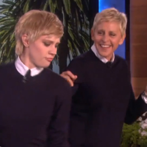 Watch: Kate McKinnon Does Ellen DeGeneres on 'Ellen'