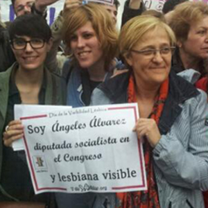 Spain's Only Out Lesbian Politician Asks Closeted Politicos to Come Out