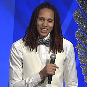 WATCH: Out WNBA Star Brittney Griner Tells Youth at GLAAD Awards 'Don't Hide It. Be Who You Are.'