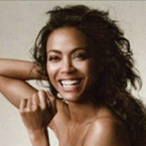 Zoe Saldana Might 'End Up With A Woman'