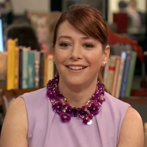 WATCH: Alyson Hannigan Hopes She Has Lesbian Fans