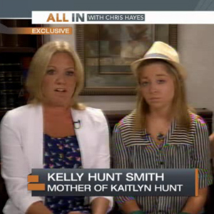 WATCH: Kaitlyn Hunt Speaks, Says She's 'Scared, Overwhelmed' By Potential Felony Sex Abuse Charges