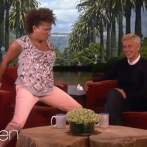 WATCH: Wanda Sykes Riffs With Ellen DeGeneres On Aging, Urinary Difficulties, and Her Wife's Caulk