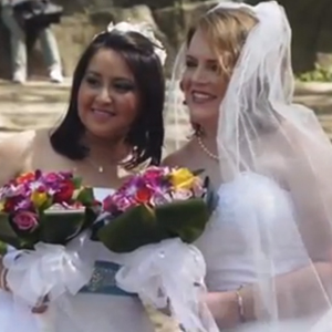 WATCH: Binational Lesbian Couple Gets Happy Ending with Rainbow Wedding in Central Park