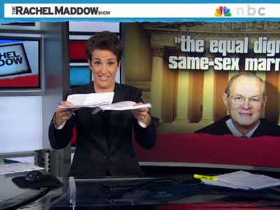 Take The Rachel Maddow Class on Interpreting the Supreme Court Rulings