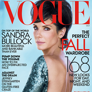 Shot of the Day: Sandra Bullock Is On Top (of the World) for Vogue