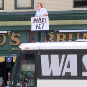 WATCH: Seattle Lesbian Proves She's Romantic with Epic Proposal