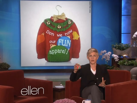 WATCH: Hallmark De-'Gays' 'Deck the Halls' - Ellen DeGeneres Responds