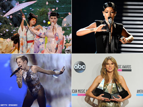 Op-Ed: Why Do We Love to Hate Miley, Katy, Rihanna, and Taylor?