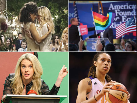 11 Reasons We're Thankful This Year from Marriage Equality to Lesbians on TV!