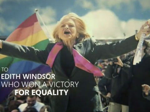WATCH: Edie Windsor and Diana Nyad Featured in Bing TV Spot Honoring 'Brave' Women