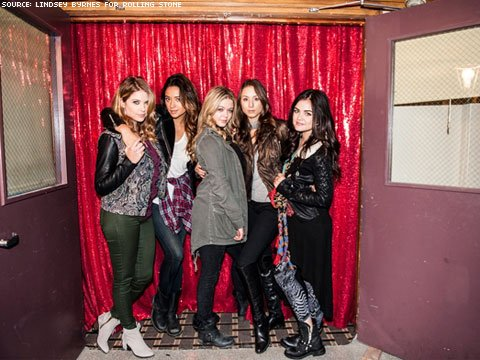 Shot of the Day: Pretty Little Liars Gets Behind-the-Scenes Treatment from Rolling Stone