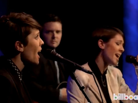 WATCH: Tegan and Sara Sing for P!nk - Confess Sexual Fantasies About Her