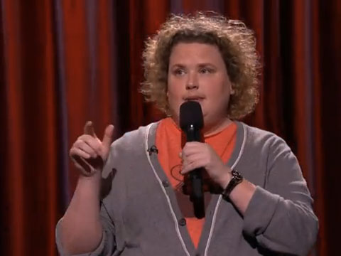 WATCH: Out Comic Fortune Feimster on Hooters, Lesbians, and Softball on Conan