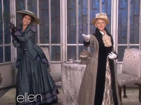 WATCH: Ellen DeGeneres Makes Minnie Driver Do Things in Downton Abbey Audition