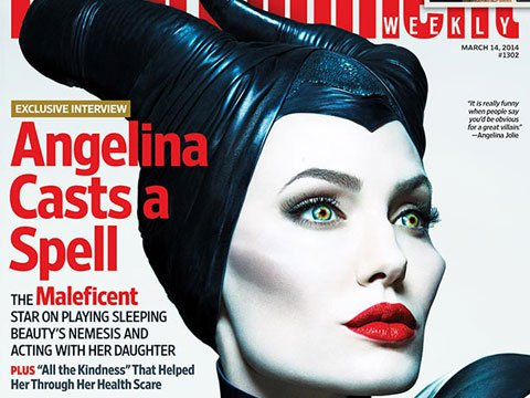 WATCH: Angelina Jolie Stuns (And Terrifies) as Maleficent