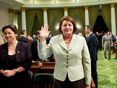 Who the F Is … California Politico Toni Atkins?