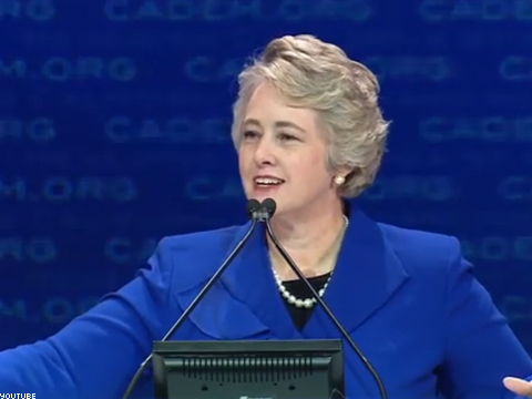 WATCH: Houston's Lesbian Mayor Reveals 'The Gay Agenda'