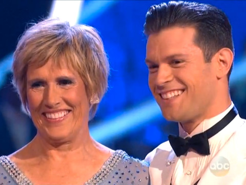 WATCH: Swimmer Diana Nyad Cuts a Rug on Dancing with the Stars