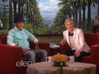 WATCH: Pharell Comes Out for Gender, Marriage Equality on Ellen