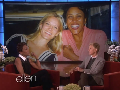 WATCH: Ellen DeGeneres to Robin Roberts 'I'm Really Proud of You for Coming Out'