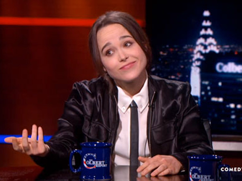 WATCH: Ellen Page Relates to X-Men Because She's Openly…Canadian