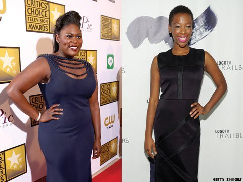OITNB's On-Screen BFFs Samira Wiley and Danielle Brooks talk Backstories, Status, and Foreign-Languge Nude Scenes