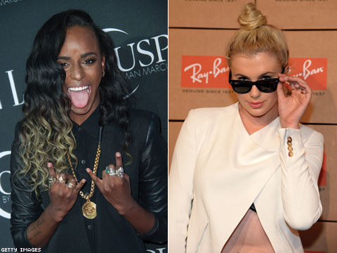 Angel Haze Confirms In No Uncertain Terms that She and Ireland Baldwin Are a Thing