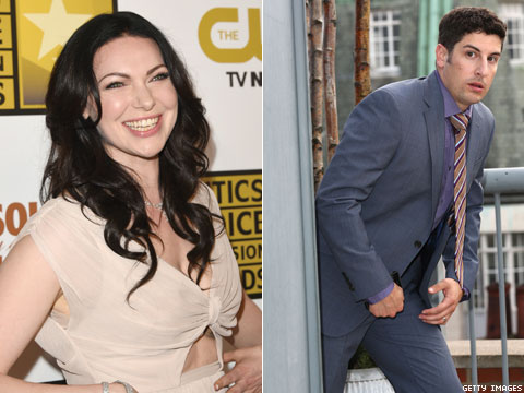 OITNB's Laura Prepon & Jason Biggs On Piper/Alex, Lesbian Sex God Status & the Dangers of Larry's Irrelevance