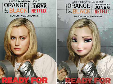 Pic of the Day: Disney Meets Orange Is the New Black in the Best Mashup Ever