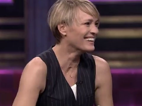 WATCH: Robin Wright Gets Silly, Offers Further Proof She's Perfect in an Outfit to Drive Lesbians Wild
