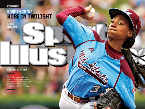 Little League Phenom Makes A Splash on Sports Illustrated Cover
