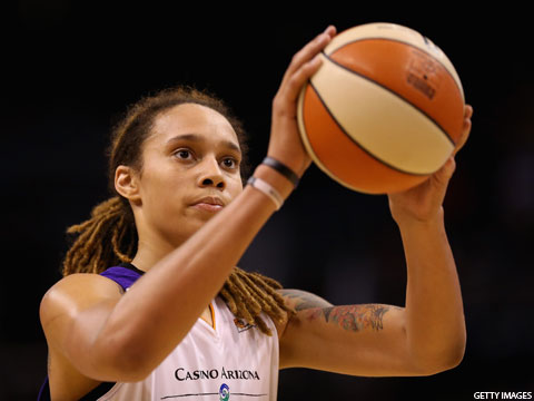 Brittney Griner Named Defensive Player of the Year