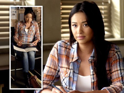9 Of Shay Quot Swoon Quot Mitchell S Sexiest Tomboy Looks From The Pretty Little Liars Set