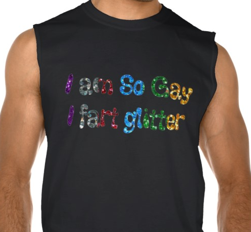 So gay fart glitter Tank Pic