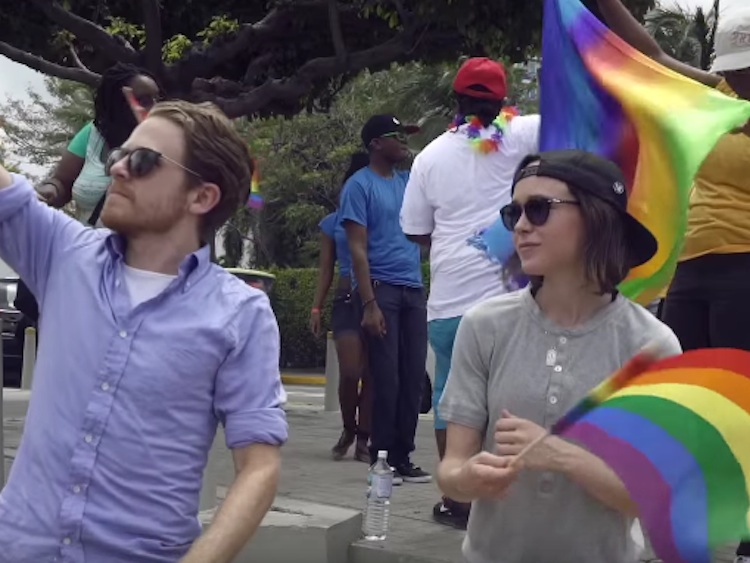 Get a First Look at Ellen Page's New Show Gaycation on VICELAND