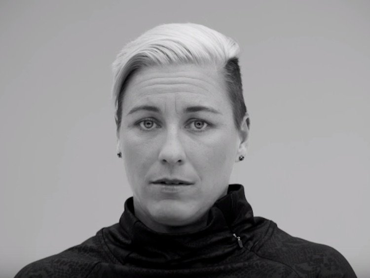 WATCH: Abby Wambach Gets Real About Overcoming Labels in New Mini USA Commercial