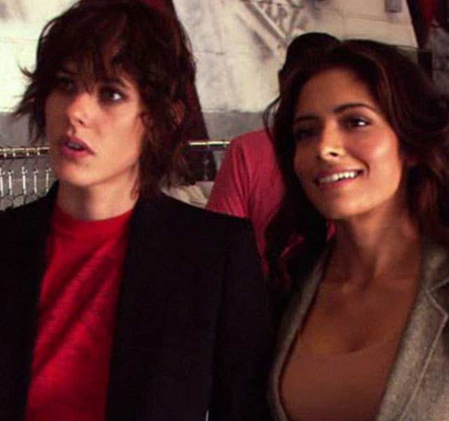 The l word threesome