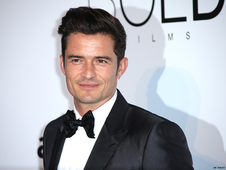 Orlando Bloom Bares It All on the Beach with Katy Perry | PRIDE.com