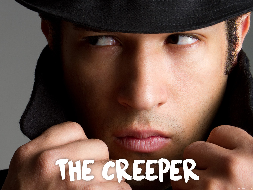 What is a man creeper on online dating