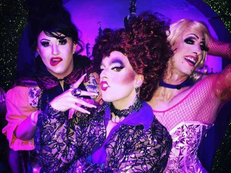 Hocus Pocus drag performance.