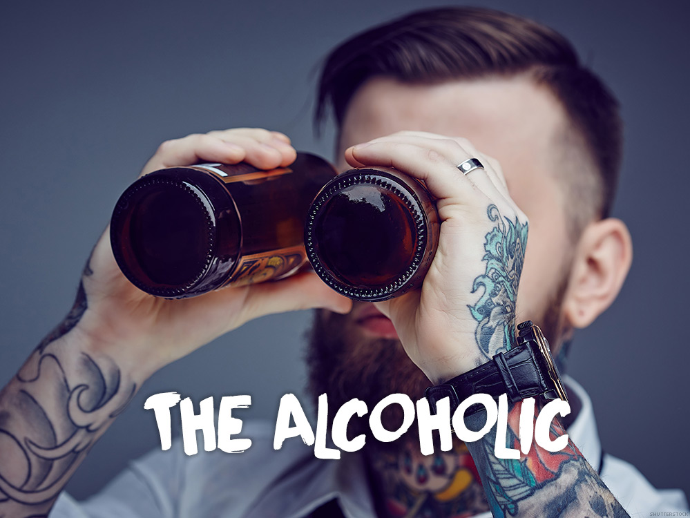 Dating an alcoholic male