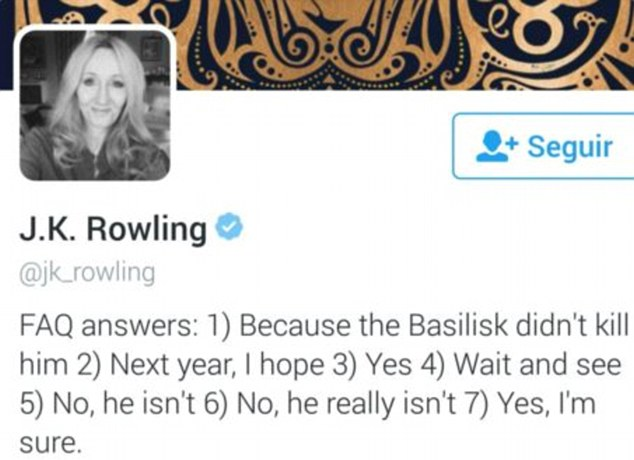 Rowling and gay